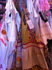 Handmade retro aprons