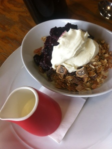 Signature muesli at Di Bella in North Melbourne
