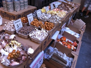 So many types of mushroom! Possibly even some magic ones...it is San Fran after all.