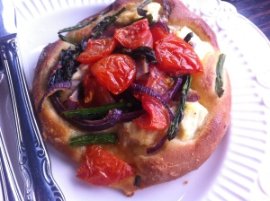 A like rather than a dislike: tomato, asparagus and ricotta brioche at Dolcetti, with super friendly service as well.