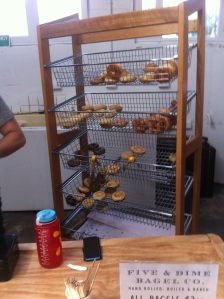 bagel stand