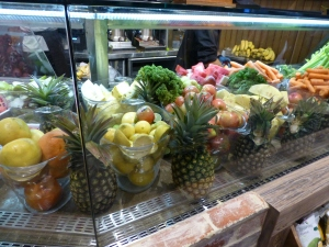 Top Juice's delicious looking display cabinet